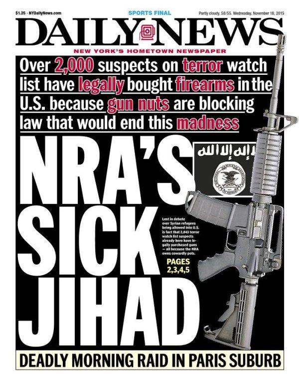 NRA's Sick Jihad