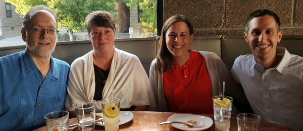 Mimi and I enjoyed dinner in Denver with Meg and Dave.